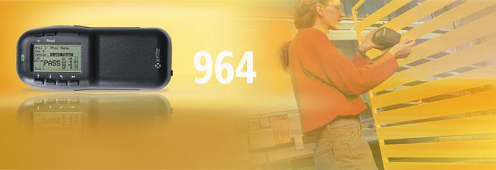 美国爱色丽X-rite 964 0°/45° 便携式分光光度仪