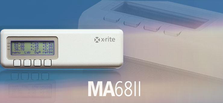 美国爱色丽X-rite MA68 II 便携式多角度分光光度仪