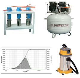 干法测试空气过滤干燥系统  粒度测试除尘装置