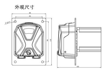 KT15型泵头