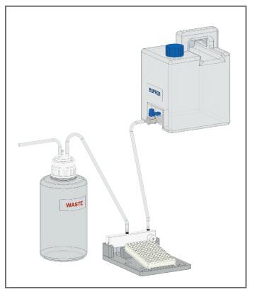 BioWasher 100半自动微孔板清洗机